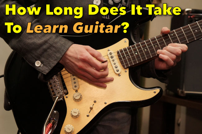 How Long Does it Take to Learn Guitar ...