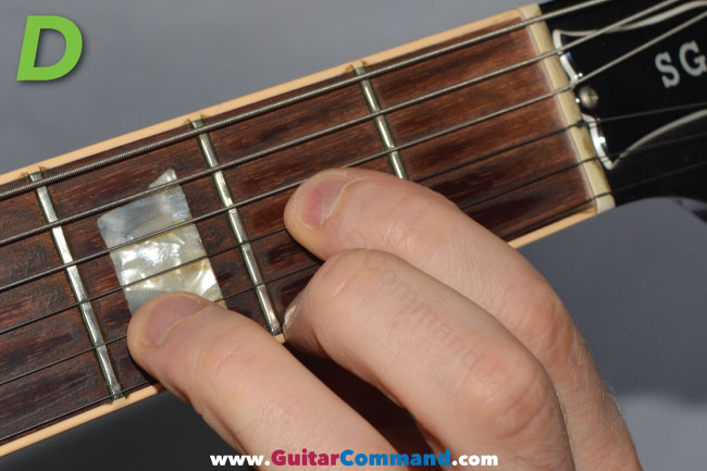 D Chord Guitar Finger Position: How To Play D Guitar Chord