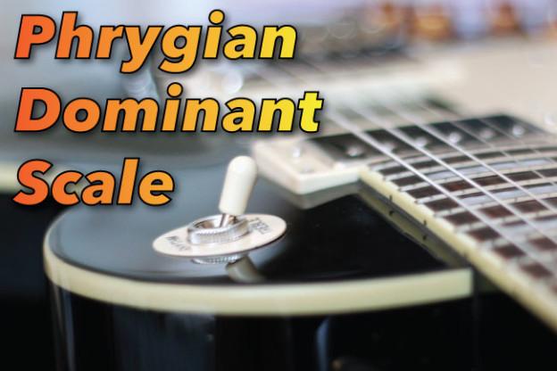 Phrygian Dominant Guitar