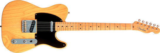 Types Of Electric Guitars - Fender Telecaster