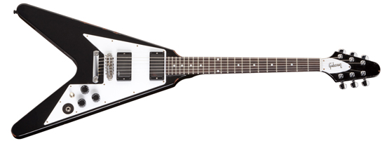 Types Of Electric Guitar Gibson Flying V