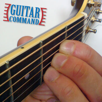 how to play guitar chords a major