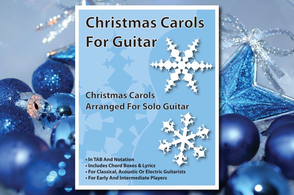 Christmas Carols For Guitar Music Chords Tab Pdf Book