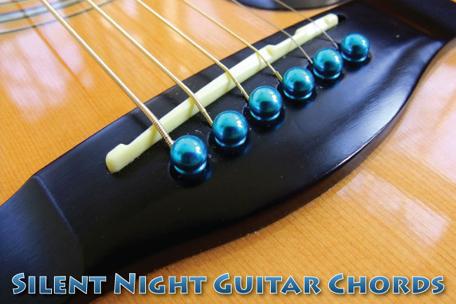 Silent Night Chords With Guitar TAB & Lyrics: Free PDF