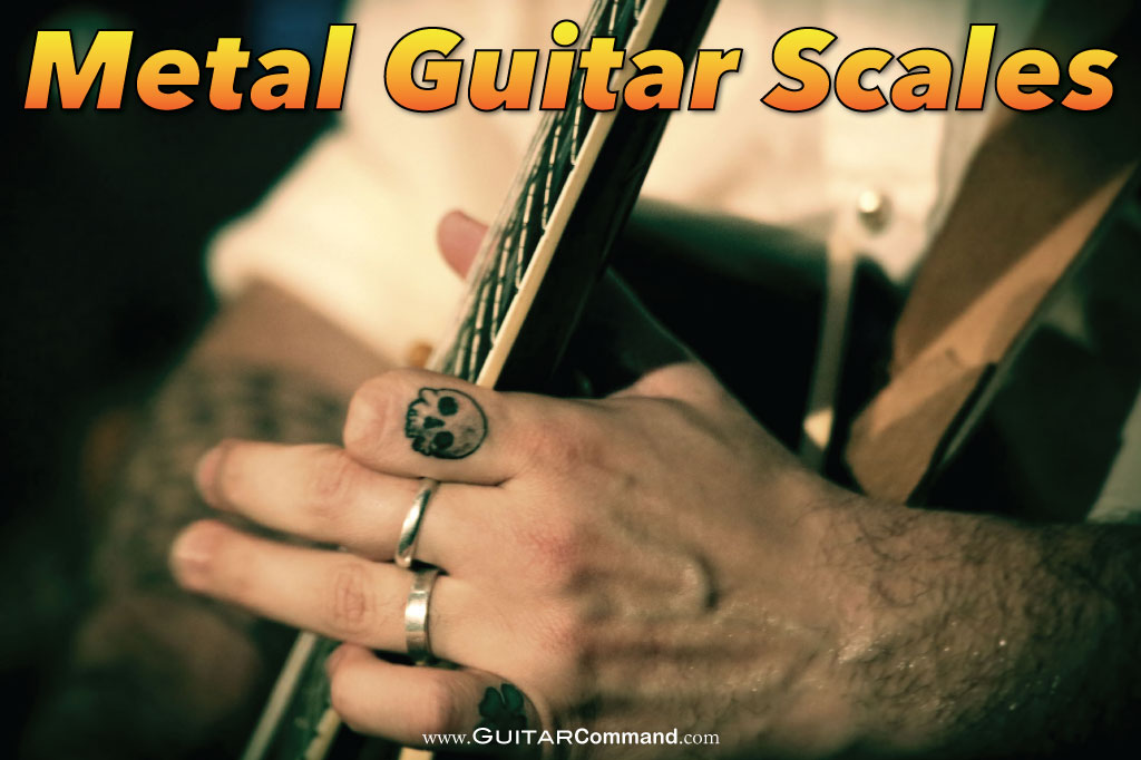 Metal Guitar Scales - Tab, Diagrams, Notation & Audio