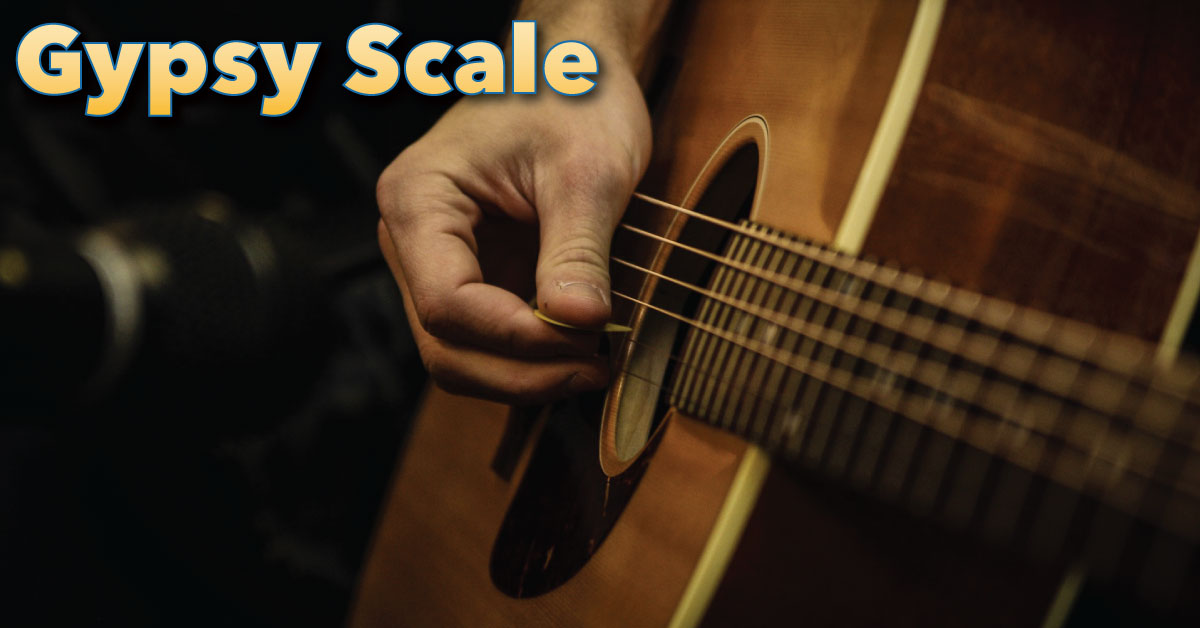Gypsy Scale Guitar Tab Notation Diagrams Theory