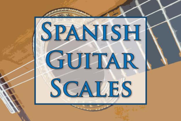 Spanish guitar lick