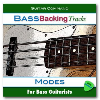 Bass Backing Tracks Modes
