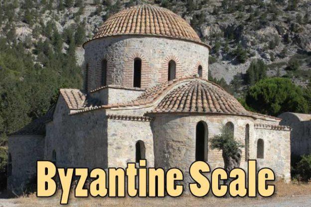 Byzantine Scale Guitar