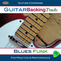 Guitar Backing Tracks Blues Funk