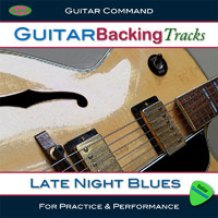 Guitar Backing Tracks Late Night Blues