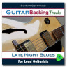 Late Night Blues Backing Tracks