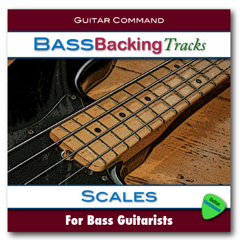 Bass Backing Tracks - Scales
