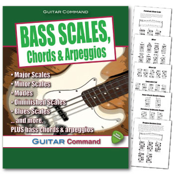 Bass Guitar Scales Chords Arpeggios Pdf Download Book