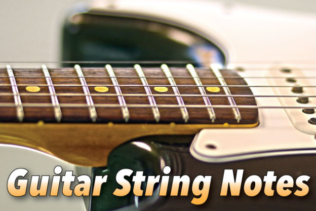 Guitar String Notes Tuning