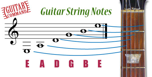 Guitar Basics String Notes