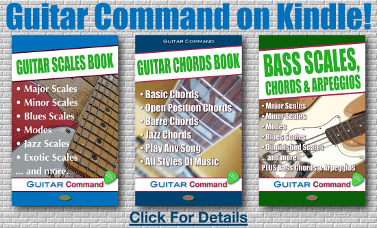 Kindle Guitar Books