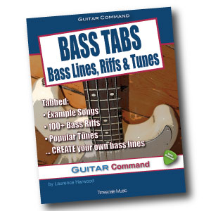 Bass Tabs - book available from Amazon stores worldwide