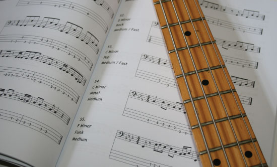 Guitar guitar tabs book : Bass Tabs Book - How To Play Bass Lines And Riffs
