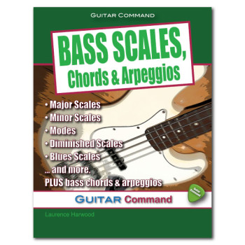Bass Scales Chords & Arpeggios Book