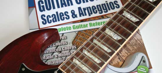 Guitar Chords Scales Book Cover