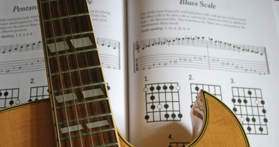 Guitar Scales Chart Book Pages
