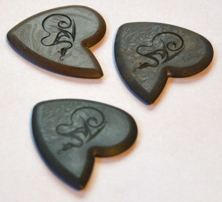 Dragon's Heart Guitar Picks