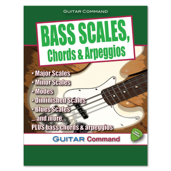 Bass Scales, Chords, Arpeggios eBook