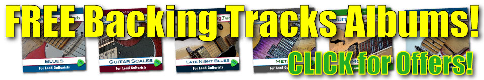 Guitar And Bass Backing Tracks Offers