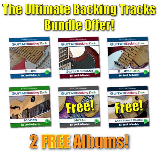 Ultimate Guitar Backing Tracks Offer