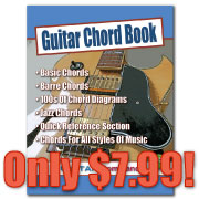 Printable Guitar Chord Book PDF