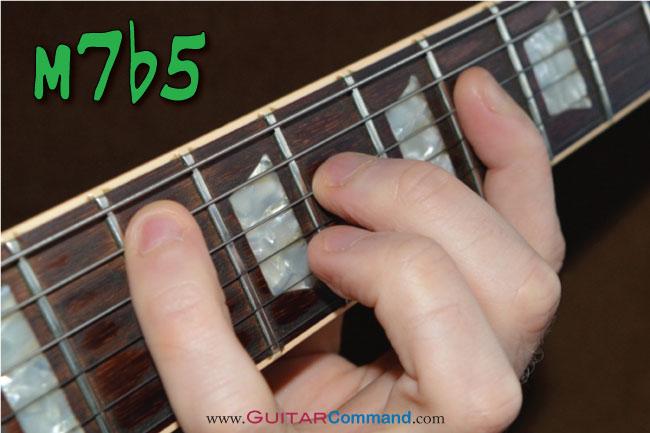 Minor 7 flat 5 Chord Photo