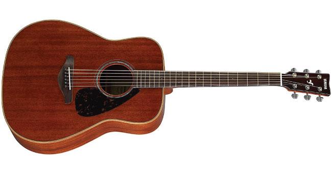 Yamaha FG850 Solid Top Acoustic Guitar Mahogany
