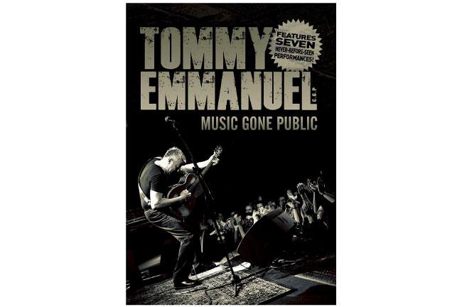 Tommy Emmanuel Music Gone Public DVD