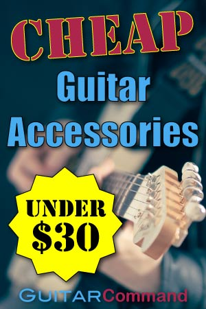 Best Cheap Guitar Accessories Ad