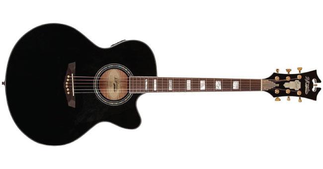 D'Angelico Madison Jumbo Cutaway Acoustic-Electric
