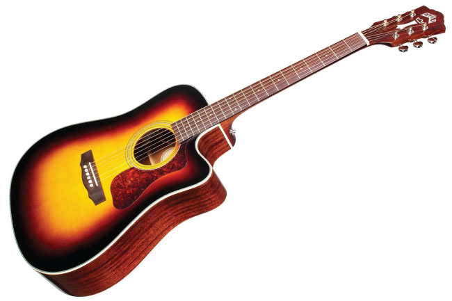 Guild Westerly Collection D-140 Antique Sunburst