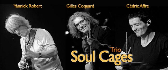 Soul Cages Trio flyer