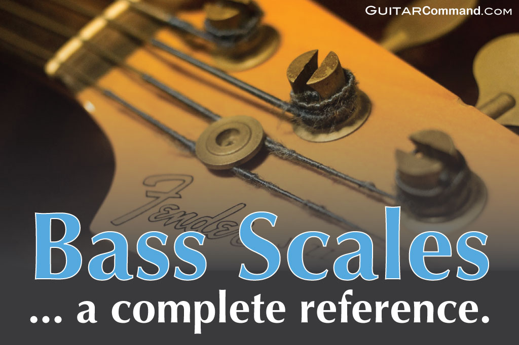bass scales – bass guitar scales tab & patterns: the ultimate online  reference
