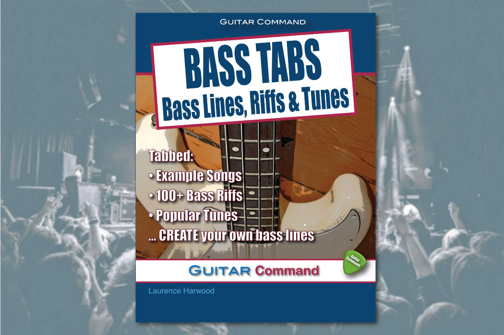 Bass Tabs Book - How To Play Bass Lines And Riffs